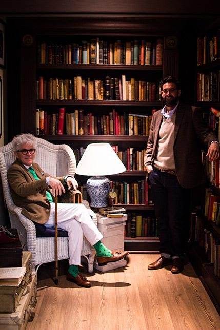 Pablo Courard y Federico Sánchez