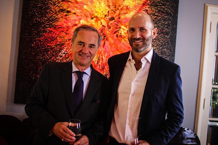 Hans Henning y Francisco Bustamante