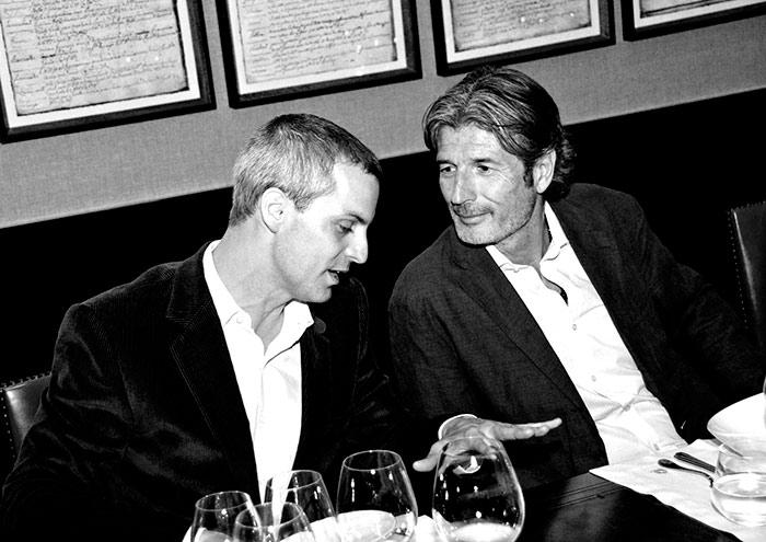 Felipe Sahli y Andrés Hidalgo