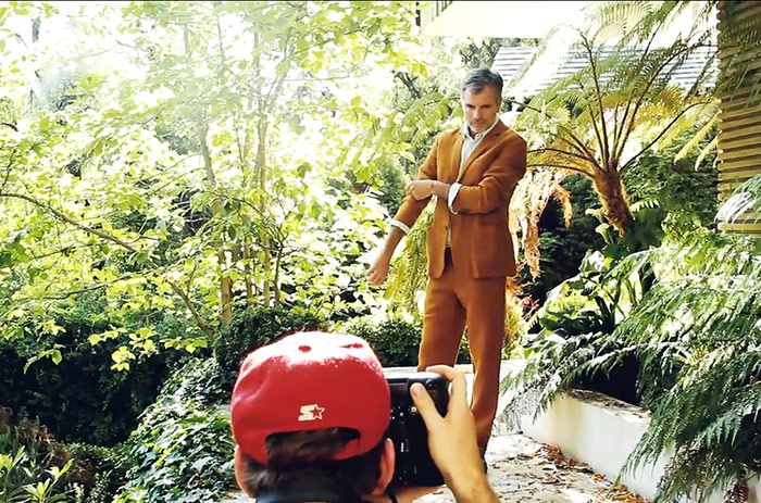 El actor en una espectacular sesión de fotos en exclusiva para Revista SML.