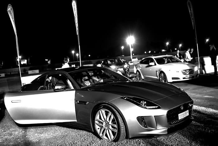 Test drive land rover jaguar