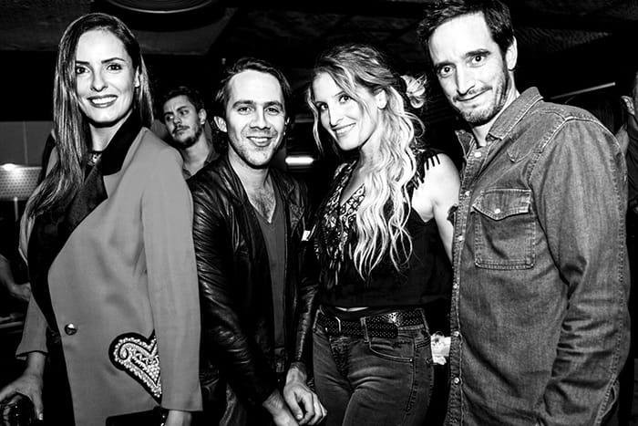 Macarena Sánchez, Camilo Carmona, Silvanna Gajardo y Nicolás Saavedra