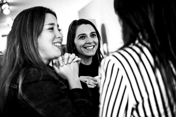 María José Vásquez, Pamela López y Daniella Moraga