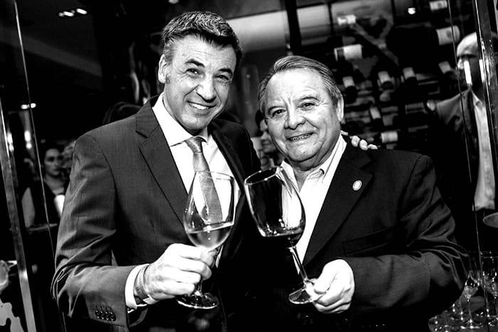 Yann Yvin y Héctor Vergara