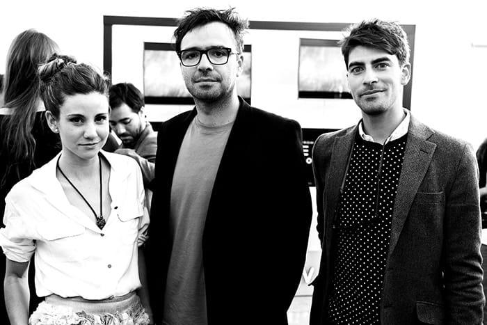 Karyn Coo, Andrés Ghiorzo y Jorge Merino