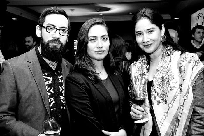 Patricio Lagos, Karyn Prado y Claudia Sánchez