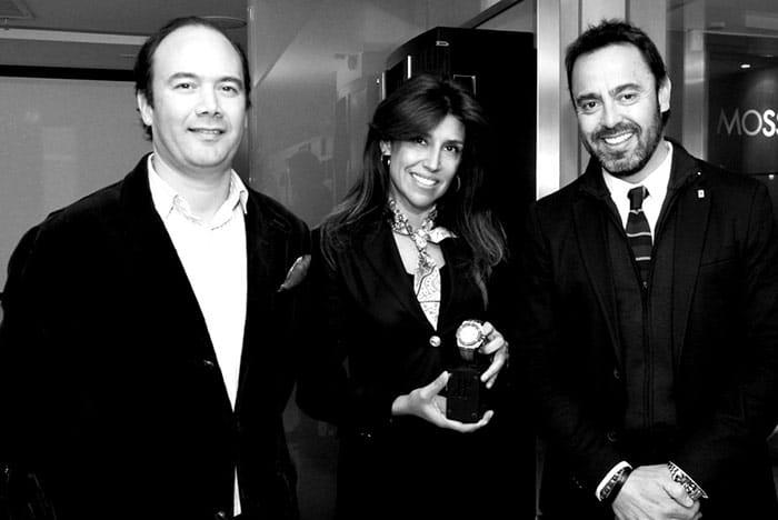 Cristián Benko, Yenia Osses y Claudio Robles