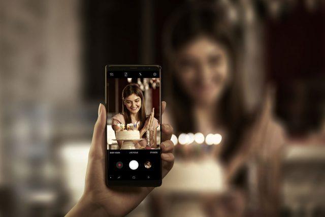Galaxy Note8 Camera low light
