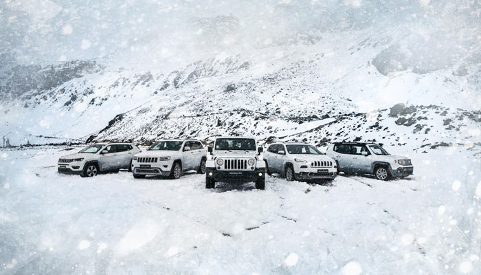 Jeep Valle Nevado